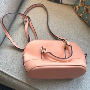 Merona Peach-colored Bag